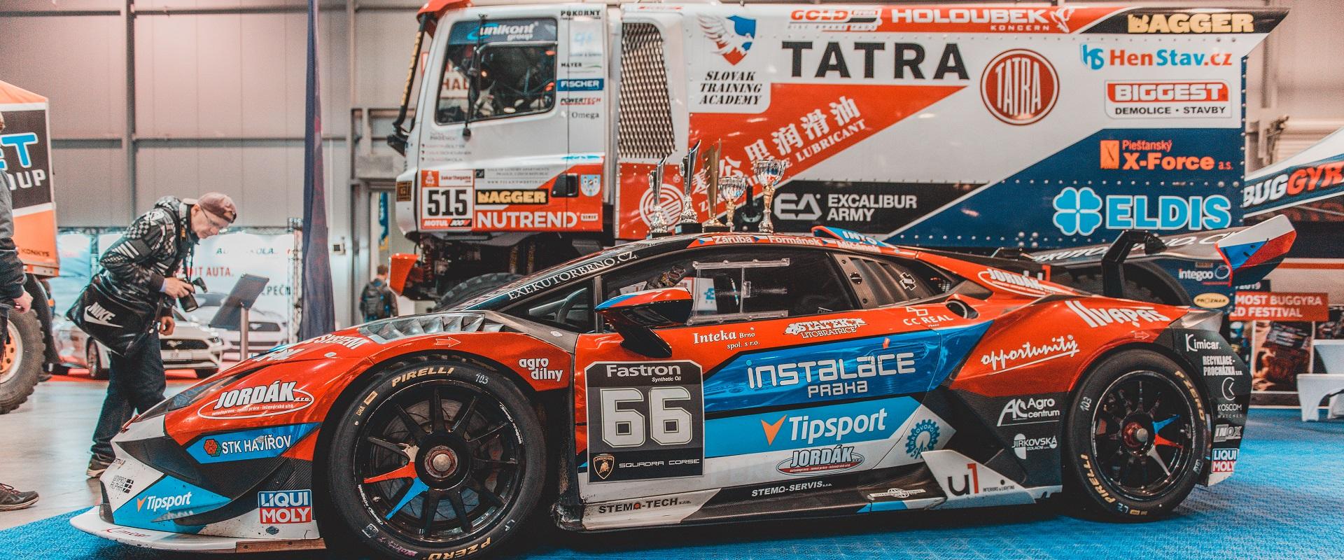 Jezdci týmu Mičánek Motoprsport powered by Buggyra se setkali s fanoušky na Racing Expo