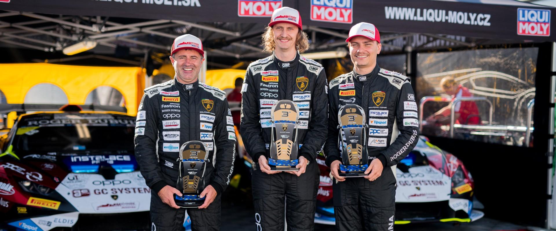 """Mičánek Motorsport powered by Buggyra veze z Nürburgringu dvě podia. """"Měli jsme na víc,"""" mrzí zpětně Mičánka jr."""